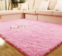 Wholesale 400mm mm mm mm Six Colors Carpet Plush Rectangle Living Room Bedroom Floor Mat Cover Carpet Floor Rug Area Rug