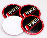 Wholesale High Quality mm Aluminum Auto Car Wheel Center Hub caps Covers Emblem Badge sticker for Toyota Toyota TRD