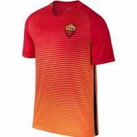 Wholesale 2017 Rome Soccer Jersey Rome rd Soccer Jerseys DZEKO TOTTI DE ROSSI Football Shirts Thai Quality Orange Third Jeresys