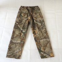 Wholesale Hunting pants pine needle camouflage hunter trousers