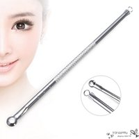 beauty special offers - 2016 Special Offer Direct Selling Facial Silver Blackhead Remover Acne Blemish Pimple Extractor Neddle Skin Beauty Care Tools