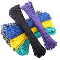 Wholesale 108 colors Paracord Paracord Parachute Cord Lanyard Rope Mil Spec Type III Strand FT Climbing Camping survival equipment
