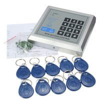 access user manual - RFID Proximity Entry Door Lock Access Control System User RFID Keyfobs with English user manual