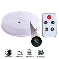 Wholesale Mini HD DVR SPY Hidden Camera Smoke Detector Motion Detection Video Recorder Cam Mini CCTV Lens