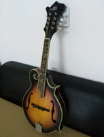 Wholesale New arrival Mandolin made of soild wood in sunburst top quality