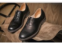 Wholesale Coffee Color Shoe Man - cut-outs toe coffee and black two color with Elastic band leather men dress shoe loafers leather men shoes 5007-13