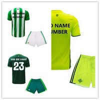 Wholesale Real betis football jersey quality of children s clothing football shirts real betis