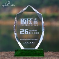 crystal awards and trophies - Personalized Sports Event Awards Trophy DIY champions league Souvenir Games Company Basketball Football Golf trophies and awards