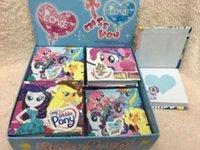 Wholesale New set cartoon my little pony Children Notepad stationery kids gifts CM