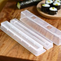 best sushi rolls - One Set Best selling Japanese Cuisine DIY Sushi Rolls Kitchen Cooking Tools Rice Ball Mould Bento Lunch Box