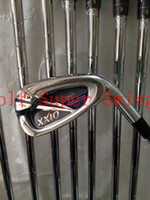Wholesale Brand New MP Golf Irons Set PAS Dynamic Gold Steel Shafts DHL