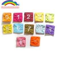 Wholesale New Infant Toys Baby Rattle Toys Number Cards Brinquedos Juguetes Rainbow Cloth Toy Early Educational Toy set