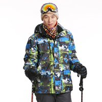 Wholesale Dropshipping new fashion waterproof windproof hiking camping outdoor jacket winter clothes outerwear ski snowboard jacket men