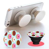 Wholesale Creative Grip Stands PopSockets Mounts Without Logo Expanding Stand Grip Card Cell Phone Holders Smartphone iPhone iPad Stents with Package