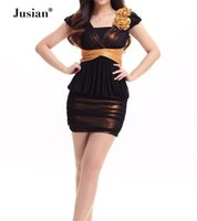 Wholesale Jusian Women s Sexy Costume Dress Exotic Apparel Cosplay Wear Blue Orange Yellow YZM8277