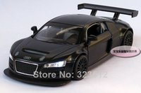 audi diecast - New AUDI R8 Diecast Vehicle Car Model Toy Collection With Sound Light and Empennage Black B106b