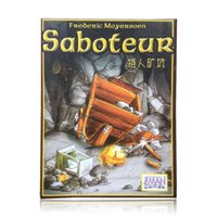 Wholesale hot sale multiple language rules saboteur saboteur expansion VIP pack simple pack cards game table game board game
