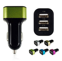 Wholesale 3 Way Car Cigarette Lighter Socket Splitter Charger Power Adapter DC USB V V for all mobiphone smartphone