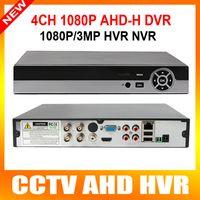 Caméra 4 canaux DVR AHD AHDH 1080P / 960P sécurité CCTV DVR 4CH Mini hybride HDMI DVR soutien 2MP IP / analogique / AHD