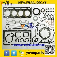 b tractor - Kubota D72 V1205 engine overhual full gasket kit upper lower set with cylinder head gasket For Kubota KSR250ADX Tractor V1205 B