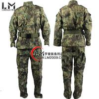 Wholesale Kryptek Mandrake Men Army Military Equipment Airsoft Paintball BDU Uniform Combat shirts and pants set