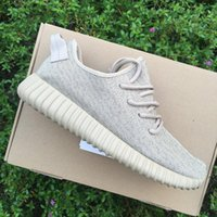 Wholesale FashionyeEzied Boost Pirate Black Moonrock Grey Tan Sneakers Low Outdoor Shoes Athletics Basketball Shoes Size With Box