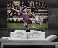 barcelona fc messi - Lionel Messi Barcelona FC and argentina Poster print wall art picture parts giant huge size NO94