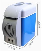 Wholesale Mini Car Refrigerator Car And Household Small Refrigerator Vehicle Mounted Cooling And Heating Box Compact Size And Easy To Carry
