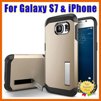 battery hard case - Samsung Galaxy S7 S6 Case Edge Note iPhone SE S Plus Case Tough Armor Defender Hard Cellphone Case