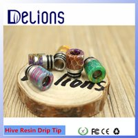 best plastic epoxy - Fashion Design best selling Original colorful Epoxy resinHive resin drip tips Cap in stock