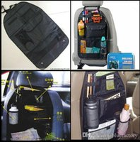 Wholesale Car Back Seat Organizer Collector Storage Container Multi Pocket Utility Auto Vehicle Grocery Oxford Cloth Bags Travel Compartment Pouch