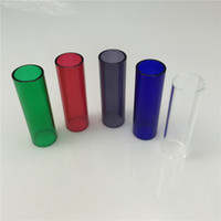 Wholesale kangertech kanger cupti Replacement Spare Pyrex Glass Tank Tube mm mm thick colorful glass pyrex glass pipes