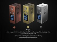 gold nugget - Authenic latest Gold Rush Nugget box mod w TC kit by Artery vapor wit Top filling er Tank ml ml SMALLER than ecig COV Mini Volt kit