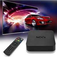 Wholesale Original KODI MXQ TV Box Amlogic S805 Quad Core Cortex A5 Mali Quad Core H H KODI Pre installed MX MXQ Android TV