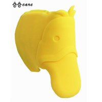 arc mold - Comfortable Soft Bathing Spout Cover Bar Tap Yellow Horse Collision Angle Washable Flexible Mold Corner Edge Cushions Hot Sales