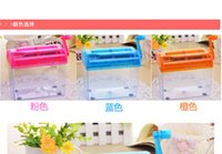 Wholesale mini home office shredders mute manually cranked grinder shredding device office supplies