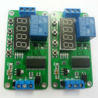 battery relay switch - 2x Low trigger DC V Digital Tube LED Multifunction Delay Relay Time Switch for PLC Smart Home Motor Battery car Motorcycle