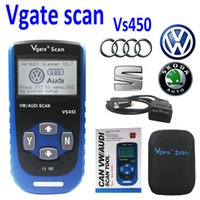 Wholesale VAG ENGINE AIRBAG ABS SCANNER TOOL VW SEAT SKODA AUDI COVERS ALL ODB2 CARS Diagnostic Service Tools VS450 Scan Tools