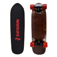 Wholesale SAYSHUN Complete Skateboard Super Speed Downhill Cruiser board for Beginners and Professional