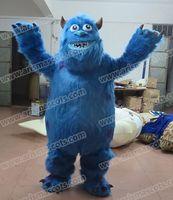 advertising universities - AM0332 University Monster Character Deluxe Sully the Monster Mascot costume cartoon costumes party costumes fur mascot advertising