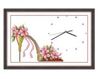 acrylic paintings sale - Hot sale New arrival High heeled shoes clock paintings refill pattern britfilms Chinese style order lt no track