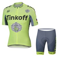 Cheap 2016 tour de france cycling jerseys Bicycle Suit pro Team cycling jersey Tinkoff 3 colors cycling jersey short Bib Pants size XS 5XL