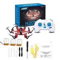 Wholesale JJRC H20 Nano Hexacopter RC Quadcopter G CH Axis Headless Mode Key Return RTF VS CX CX10A H8 Mini Drone Toys