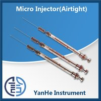 Wholesale Airtight type liquation micro injector medical syringe sample glass syringe