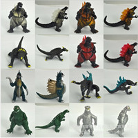 Wholesale Set Movie Godzilla Action Figure Toy Collect PVC Toy cm High Quality Dinosaur Monster Doll Toys