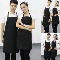 Wholesale Hot Women Muti color Cooking Kitchen Restaurant Bib Apron Dress with Pocket Gift