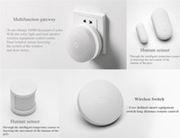android entry - Xiaomi Wireless Door Window Sensor Entry Burglar Alarm Safety Security Guardian Protector Magnetic Smart Home Device Accessories