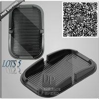 Wholesale xBlack Anti Slip Pad mat Holder mount skid proof Mats for Phone navigator