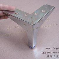 adjustable cabinet hardware - Sofa foot leg cabinet foot aluminum alloy table foot dining room foot adjustable cabinet foot furniture foot hardware fittings foot