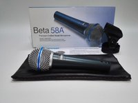 Wholesale High quality Beta58A version vocal Karaoke microfone dynamic wired handheld microphone